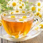 Ромашковый чай с мёдом