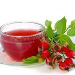 Шиповниковый чай с мёдом