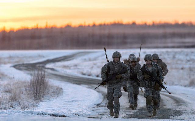 Марш-бросок в армии