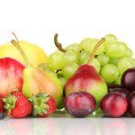 Свежие фрукты и ягоды
