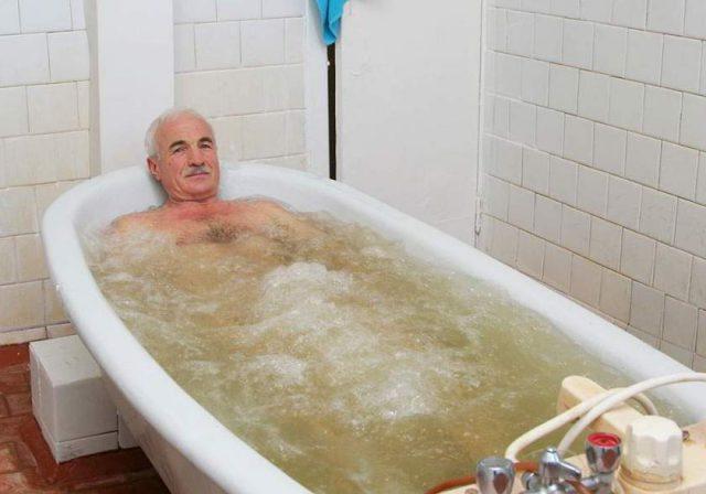 Хлоридно-натриевая ванна