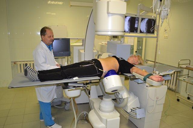 Проведение экстракорпоральной ударно-волновой литотрипсии