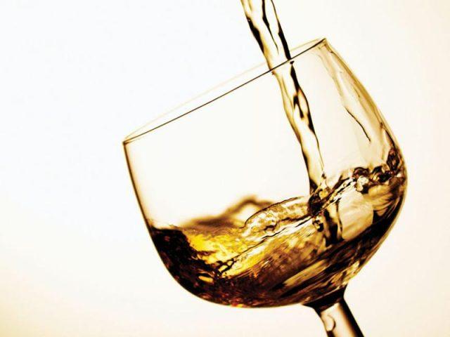 Бокал с алкоголем