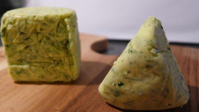 Сливочное масло с зеленью