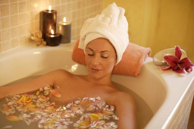Спа процедуры в ванне