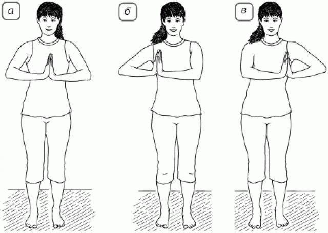 Упражнение «Движение рук вправо-влево»