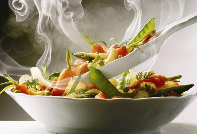 Горячие овощи