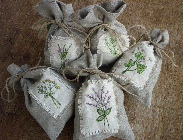 Мешочки для хранения трав