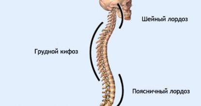 Лордоз шейного и поясничного отделов позвоночника: лечение и симптомы