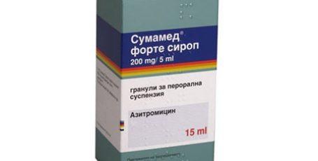 Сумамед: инструкция по применению таблеток (500\250) и суспензии (200)