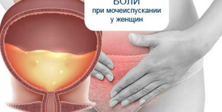 Причины боли при мочеиспускании у женщин: симптомы болезни или вариант нормы