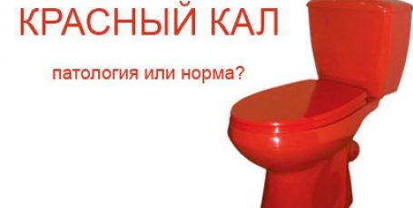 Красный и оранжевый кал: причины возникновения и опасные признаки