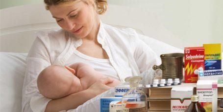 Противовирусные лекарства для кормящих мам
