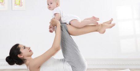 Физические упражнения для восстановления фигуры после беременности и родов