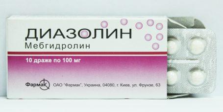 Диазолин – применение при аллергии, противопоказания и ограничения