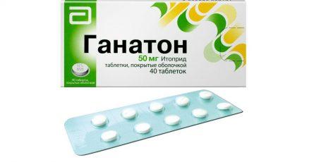 Препарат Ганатон: эффективное избавление от боли в животе и тошноты