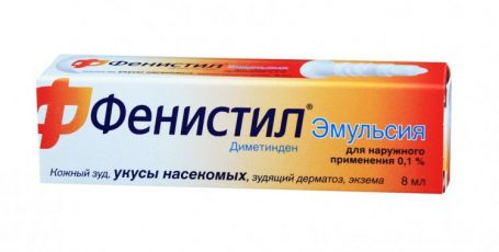 Фенистил: эффективное средство для борьбы с аллергией