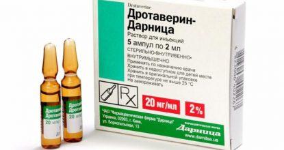 Дротаверин: скорая помощь при боли и спазмах