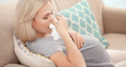 Заложенность носа при беременности: особенности возникновения и лечения