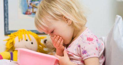 Причины рвоты и температура у ребенка без поноса, лечение и первая помощь